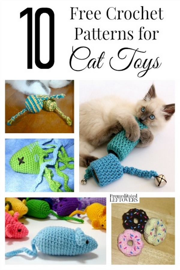 Crocheting For Your Cat Fantastic Roundup Of Free Patterns