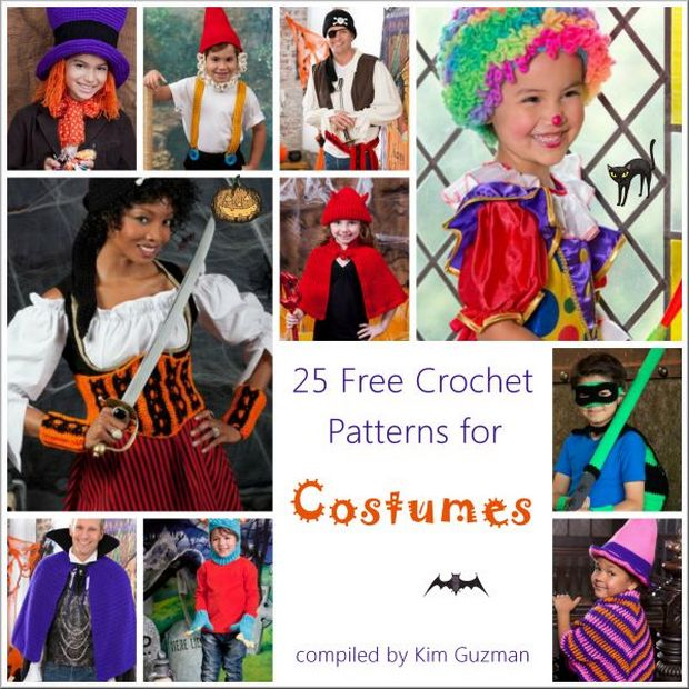 Crochet halloween costumes