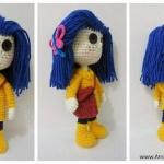 Crochet Coraline Doll