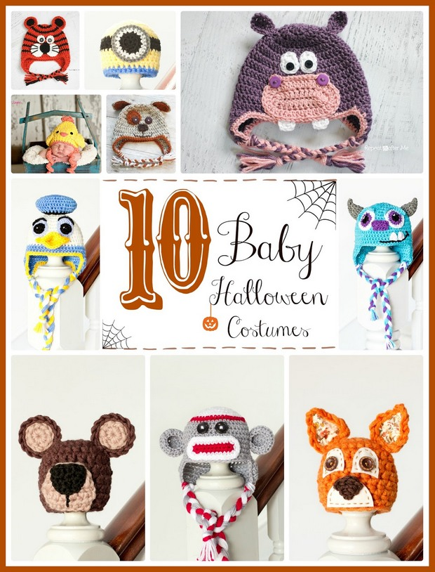 Crochet Halloween Baby Costumes