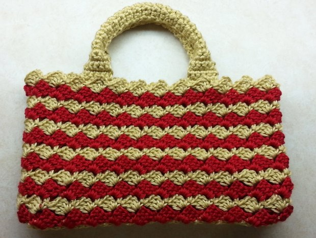 Crochet Prada Style Bag
