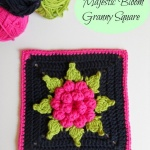 Majestic Bloom Granny Square