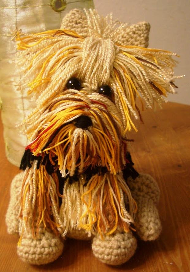 Crochet Amigurumi Yorkie