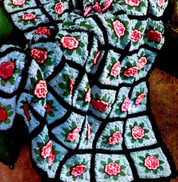 Crochet Charleston Garden Afghan