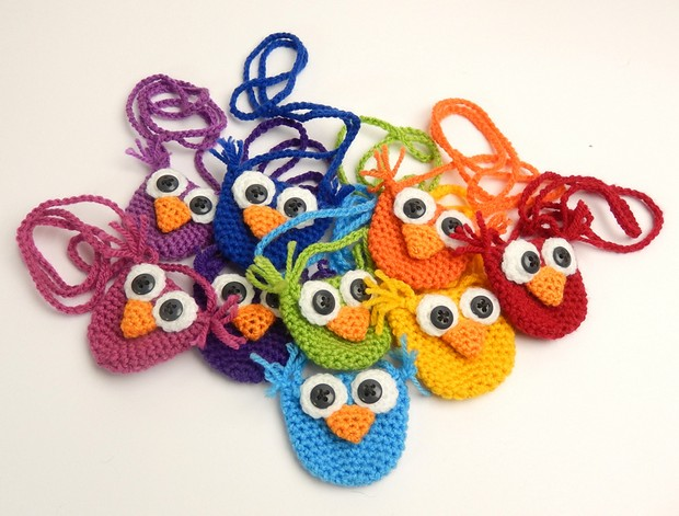 Adorable Crochet Owl Purses Free Pattern Photo Tutorial