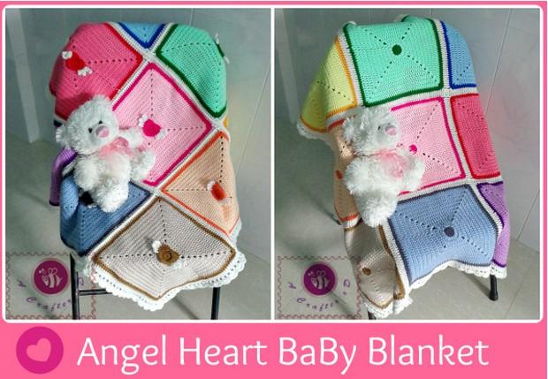 Colorful, Reversible Baby Blanket – Free Crochet Pattern!