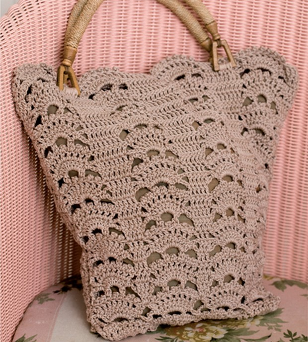 Gorgeous Crochet Bag – Free Pattern!