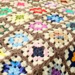 Crochet Granny Square Scrapghan