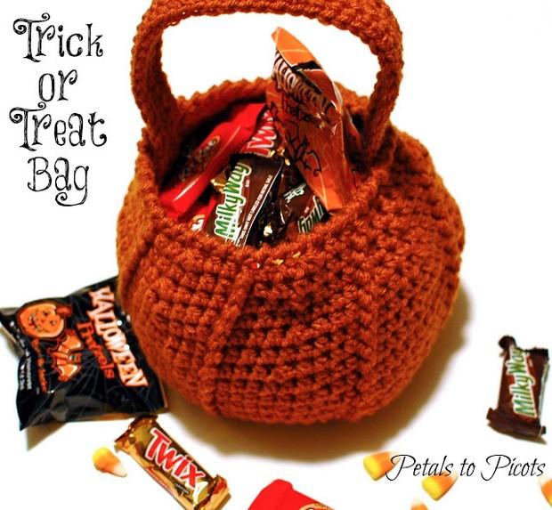 Crochet Halloween Bag