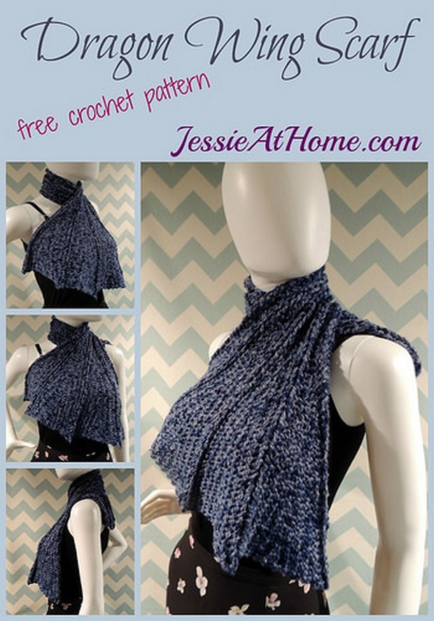 Bold And Fashionable Crochet Scarf Free Pattern