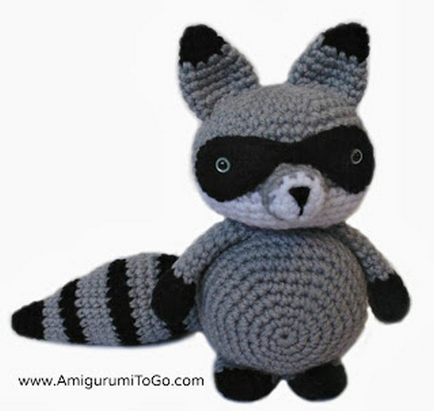 Amigurumi Raccoon