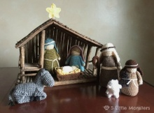 Crochet Nativity Scene