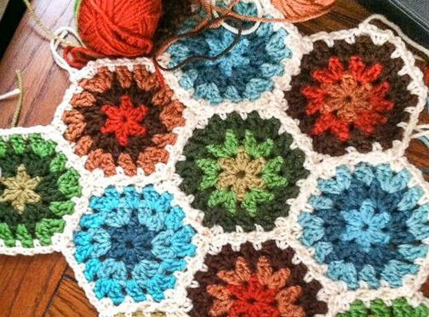 Crochet Hexagon Pattern_2