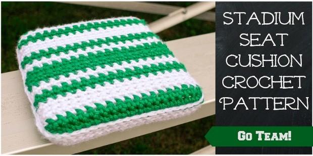 Crochet Stadium Seat