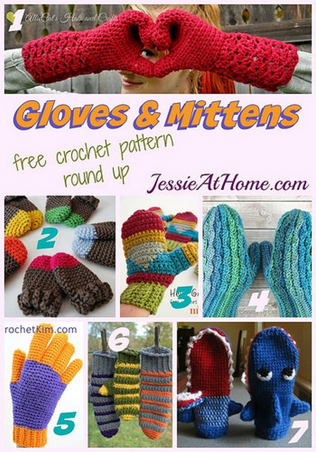 Crochet Gloves and Mittens