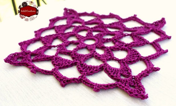 Beautiful Lacy Granny Square Free Crochet Pattern