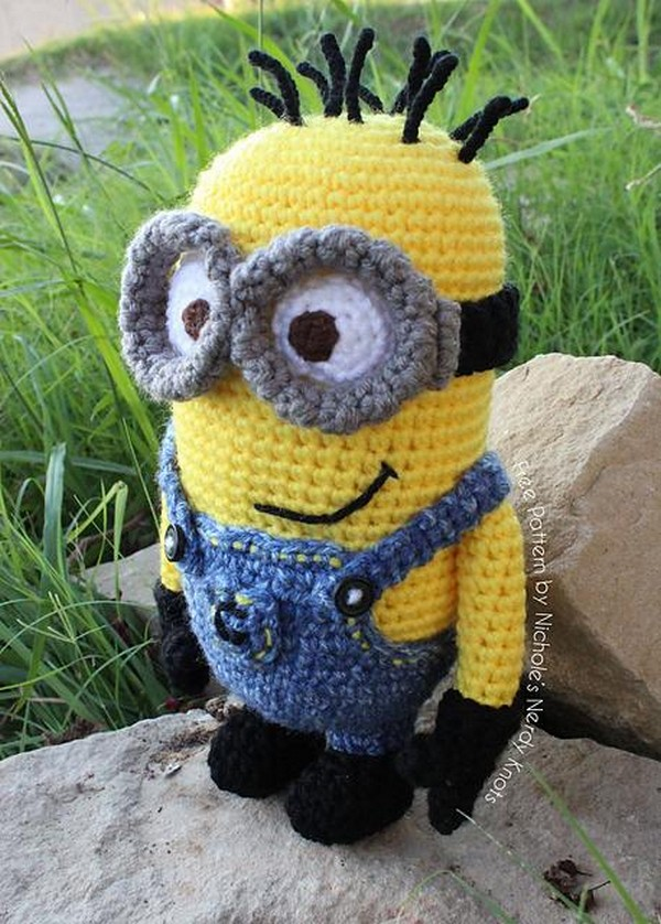 Crochet Minions Roundup 9 Free Patterns Because You Cant Have Too