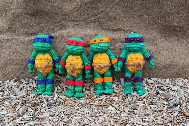 Crochet Teenage Mutant Ninja Turtles