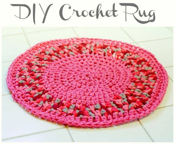 Easy Colorful Diy Crochet Rug Free Pattern