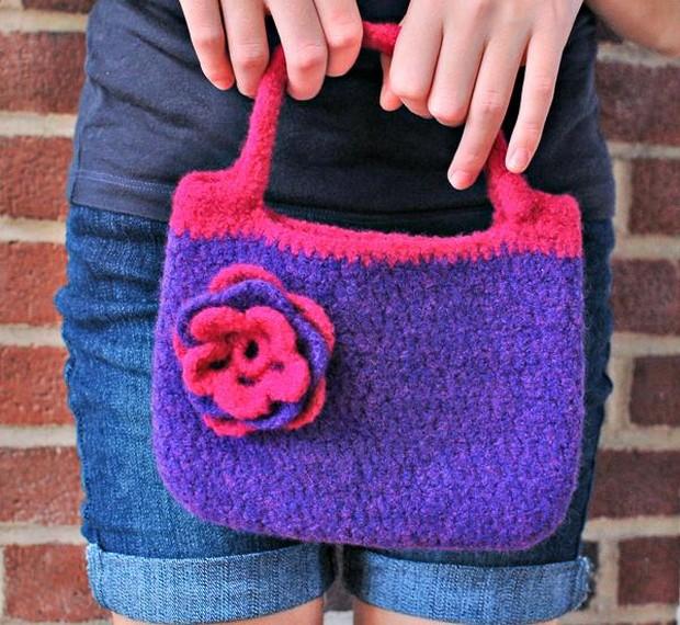 DIY Crochet Purse