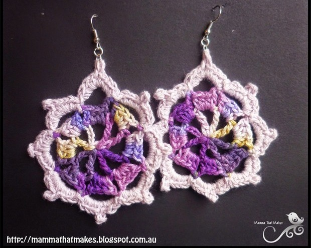 Diy Crochet Earrings Patterns Diy Virtual Fretboard