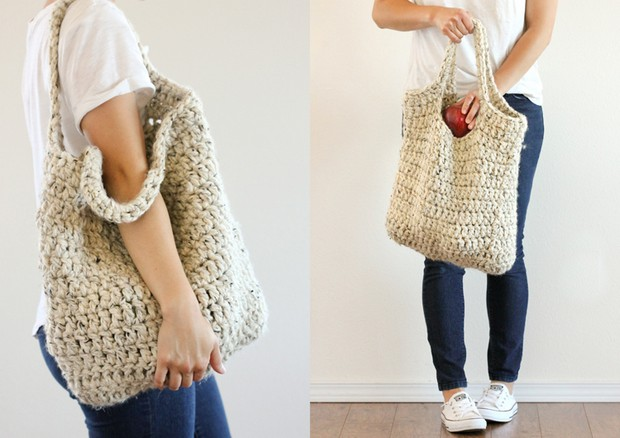 DIY Crochet Market Bag