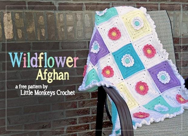 Floral Afghan