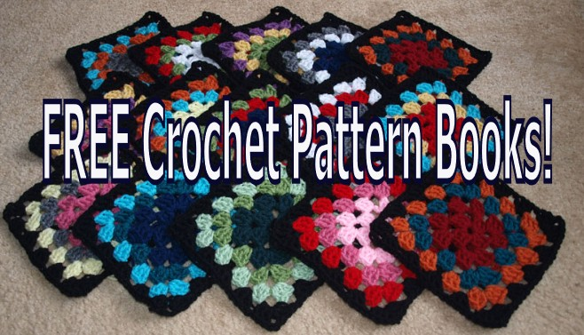 Free Crochet Books : ... Crochet Pattern! Download these Awesome FREE Crochet Pattern Books
