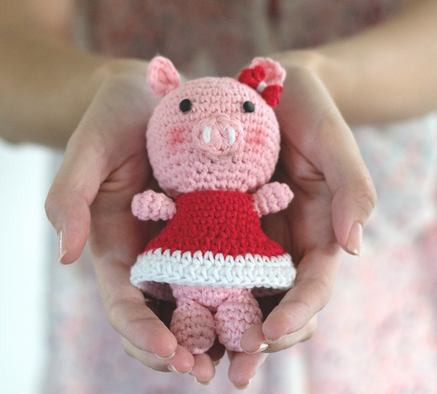 Crochet Piggy Bella