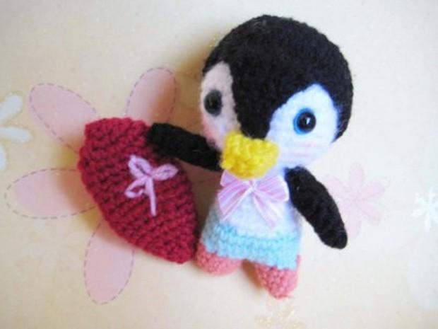 Amigurumi Crochet penguin