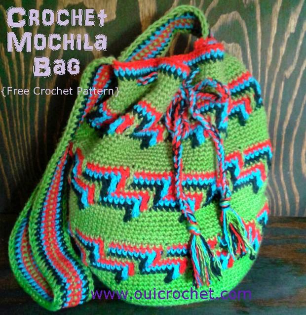 Crochet Mochila Bag