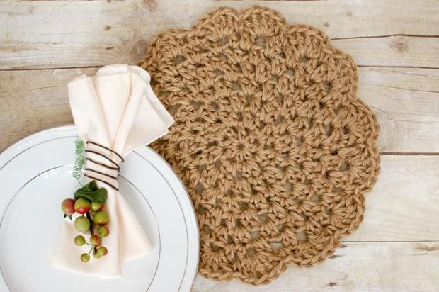 Crochet Jute placemats