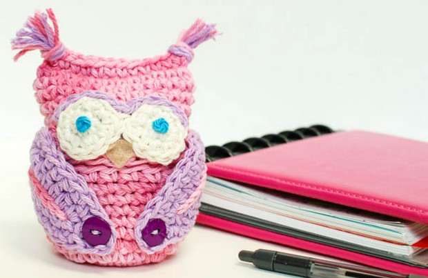 Crochet Owl Cozy