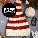 Crochet Christmas Elf Hat Free Pattern