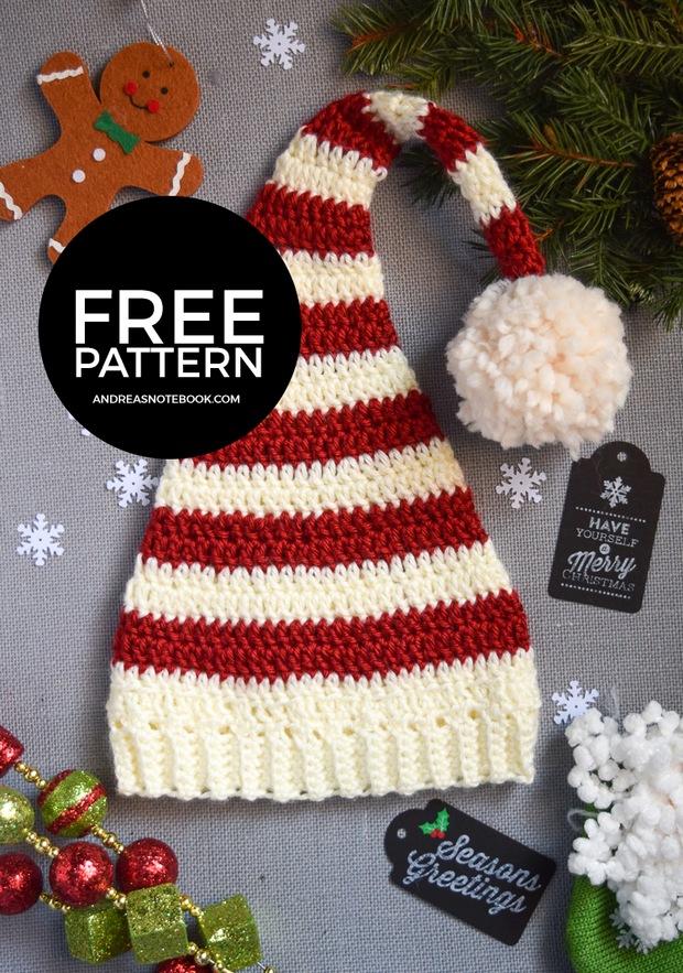 Crochet Elf Pattern - thefriendlyredfox.com   883x620
