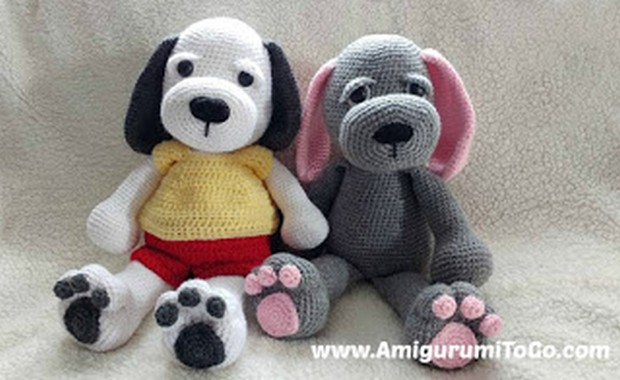 Amigurumi Crochet Puppy