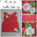 Crochet Toddler Tank Top