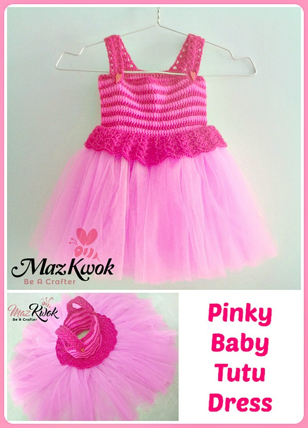 Adorable Tutu Dress for Babies ? Free Crochet Pattern!