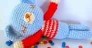 Crochet teddy bear