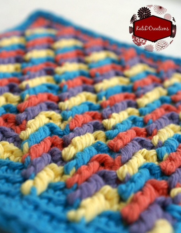 Crochet Apache Tears Washcloth