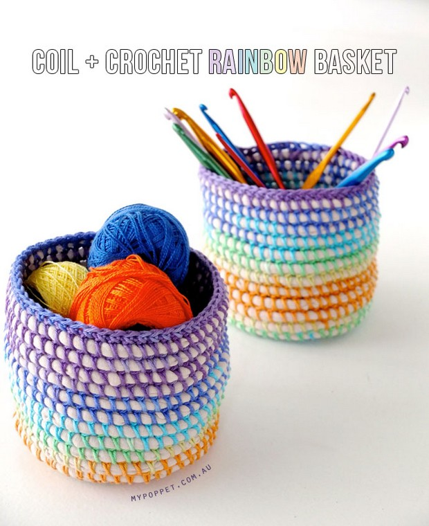 DIY Crochet Basket