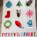 C2C Crochet Christmas Afghan