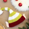 Crochet Christmas Elf Hat