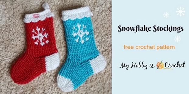 Crochet Christms Stockings