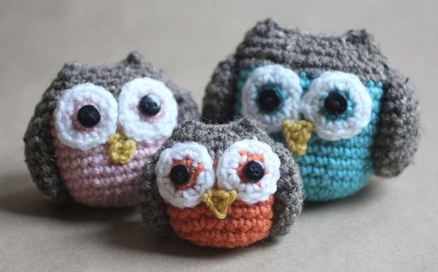 Amigurumi Crochet Owl Free Patterns Instructions | 386x620