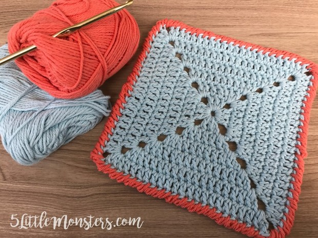 crochet crab stitch reverse single crochet tutorial