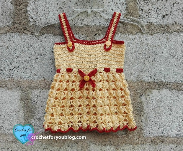crochet sundress for toddlers