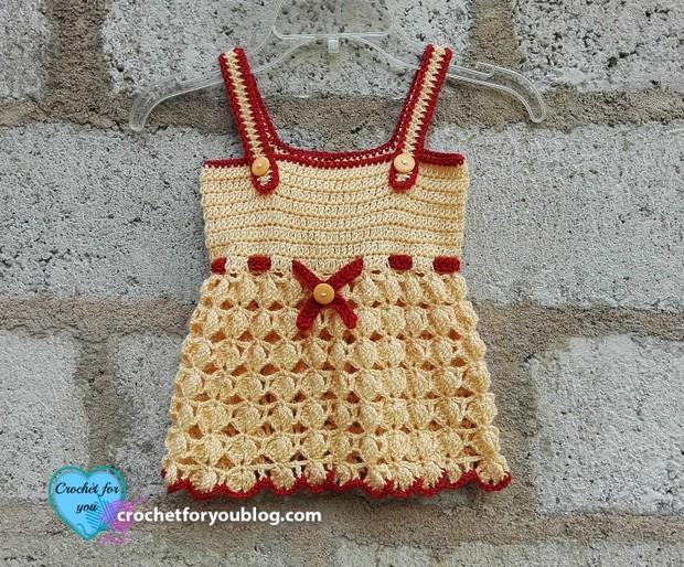 crochet sundress for toddlers