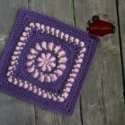 mock bullion crochet square