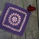 mock bullion crochet square